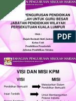 Taklimat Pengurusan Pra Guru Besar KL(2)