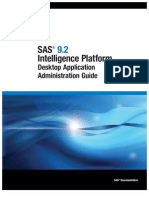Administering SAS Information Map Studio in SAS 9.2 Intelligence Platform Desktop Application Administration Guide