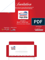 Invitation Card  peshawar property expo