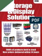 Cronins Racking Storage & Solutions Catalogue