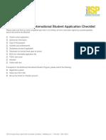 ISP Application Checklist_2018-19