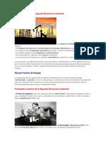 Caracteristicas de La Segunda Revolucion Industrial