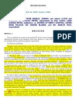 6. Reyes v. Sisters of Mercy Hospital G.R. No. 130547 October 3, 2000