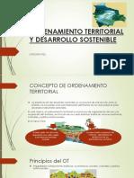 Ordenamiento Territorial y Desarrollo Sostenible