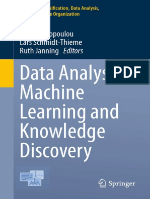 2014 - Spiliopoulou Et Al  - Data Analysis, Machine Learning