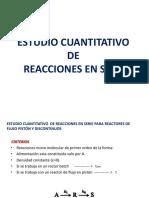 Estudio Cuantitativo de Reacciones en Serie