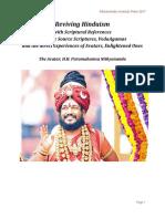 RevivingHinduism ScripturesPramanas NithyanandaUniversityPress 12Feb17