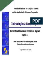 Conceitos Básicos de Eletrônica Digital
