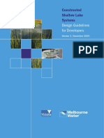 Shallow Lake Systems Design Guidelines