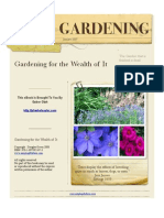 Gardening for the Wealth of It