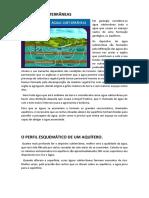 Geologia -  Águas Subterrâneas