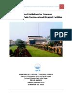 Common Bio Medical Waste Treatment Facilities - CPCB