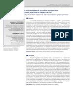 Elaboração e Aceitabilidade de Biscoitos Enriquecidos Com Aveia e Farinha de Bagaco de Uva