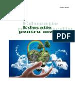 Educatie Pentru Mediu, Cl. Primare