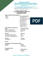 Struktur Pengurus Cabang Pmii Bulukumba 2018