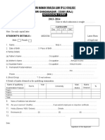 Download Admission Form 2013-14