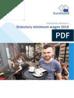 Eurofound - Statutory Minimum Wages 2018