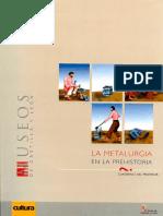La Metalurgia en la Prehistória