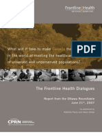 Frontline Health Dialogues