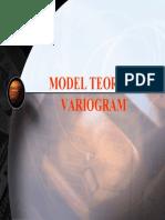Model Model Variogram