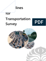 Traffic Survey Manual Guideline