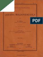 Nicolae Iorga - Ucraina moldoveneasca - 1913