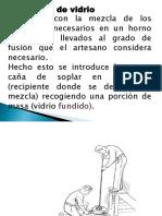 Soplador de Vidrio