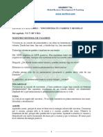 """Nuestro Sistema de Valores - Extracto Del Libro """"ENCUENTRA TU CAMINO Y SÍGUELO"""""""