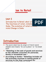1 Introduction to Retail - Pooja