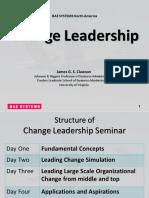Change Leadership 2013 Slides