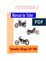 Yamaha Virago XV 750 Manual de Taller