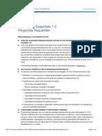 Networking Essentials 1.0 FAQ