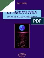 Barry Long - La Meditation