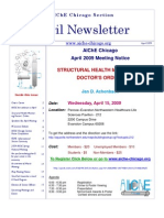 AIChE Newsletter 2009-04