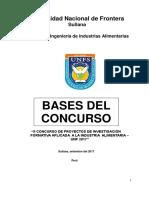 Bases Del II Concurso Unfs 2017 Corergido Noviembre 1