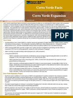 Cerro Verde Expansion JULY11