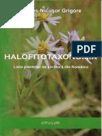 Lista Plantelor de Sartura Din Romania Marius-NicusorGrigore
