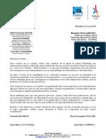 Courrier des élus du Front de Gauche au Préfet pour Tunnel Schloesing ETUDE D-IMPACT