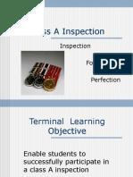 Class a Uniform Inspectio