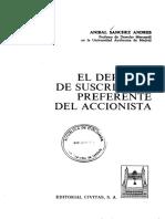 BELM-18390(El Derecho de Suscripción -Sánchez)