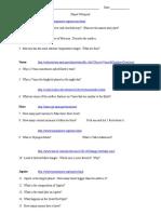 planet webquest answersheet2011