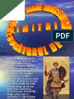 sfantulmaremucenicdimitrieizvoratoruldemir-131025053237-phpapp01