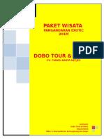 Paket Wisata Pangandaran 2D1N