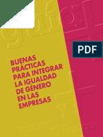 Buenas Prácticas Para Integrar La Igualdad de Género en Las Empresas
