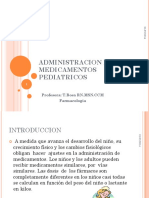 Administracion de Medicamentos Pediatricos
