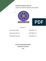 Entitas Konsolidasi Dan Laporan Keuangan Konsolidasian Kelompok 11