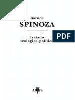 Spinoza Baruch - Tratado Teologico Politico