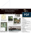 Military Heritage Archaeological Resource Assesment and Survey