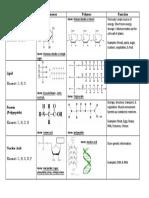 Biomolecule Chart
