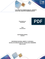 Paso 3 Diseño de Circuitos Combinacionales